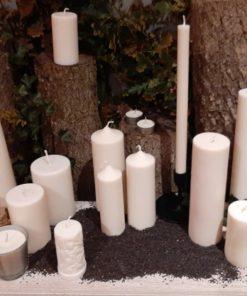 Bougies de colza écologiques