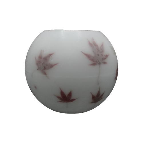 handgemaakt parafine windlicht bol 20cm Acer palmatum