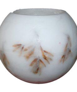 handgemaakt parafine windlicht bol 30cm Fraxinus zaden