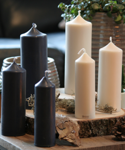 Dome top candles