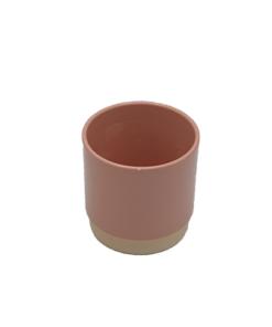 aardewerk pot 13 cm roze
